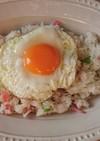 朝御飯に♥️目玉焼きバターライス