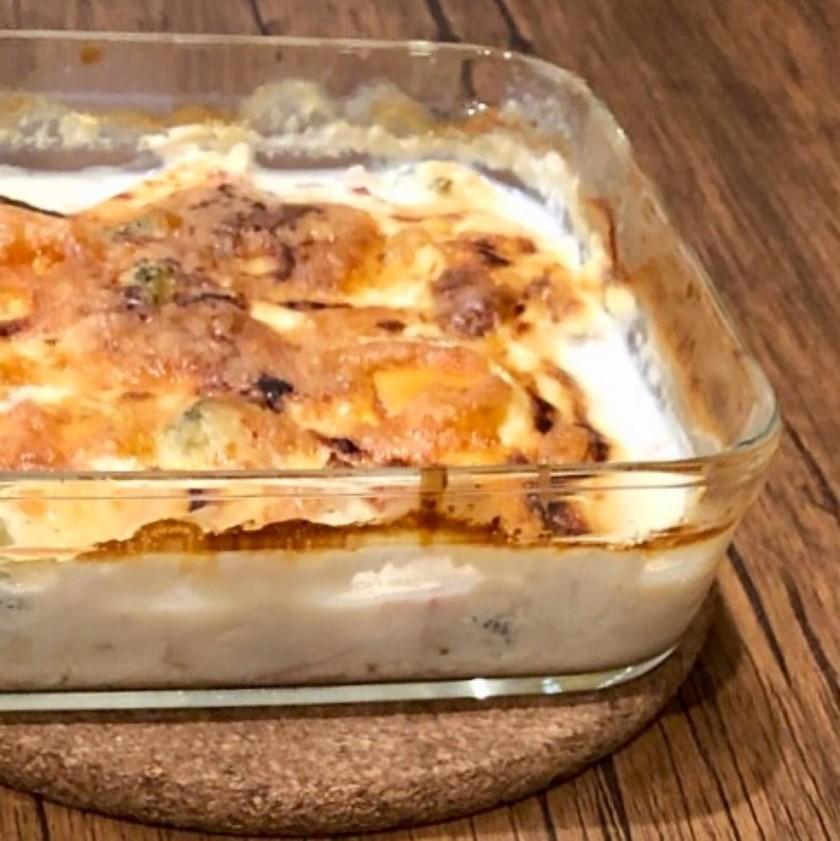 【ロカボ】豆腐 de グラタン