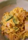 レンジで簡単☆かぼちゃときゅうりのサラダ