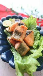 お弁当にも!子供が喜ぶ♪鮭のカリカリ焼きの写真