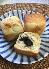 ブリオッシュ風米粉パン