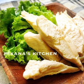 簡単☆ささみでフワフワ鶏ハム(中華風)