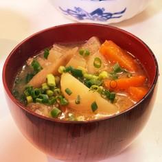 豚汁定食用の主菜系豚汁