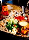 ハロウィン★ホットプレート★チーズ