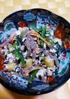 小松菜と銀杏の白和え
