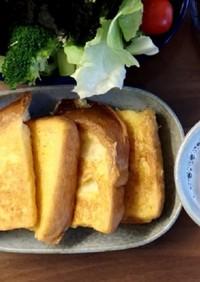 豆乳と卵で作るフレンチトースト