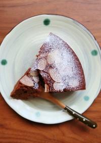 炊飯器で簡単!ふわふわチョコレートケーキ