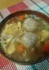 温か優しい❤️生姜&肉団子の卵スープ