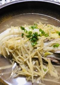 生姜好きの♡白菜と豚肉の煮物