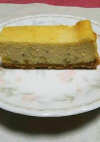 栗の甘煮チーズケーキ