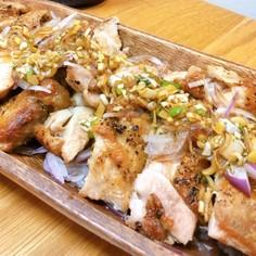 鶏もも肉パリパリ焼き