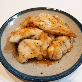 鱈のバター醤油焼き