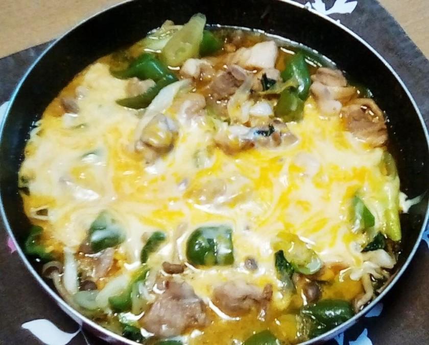 鶏モモ肉の★チーズタッカルビ