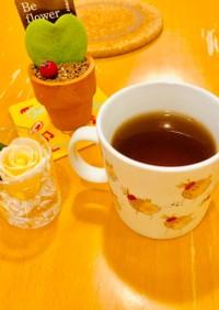 レモンティーの麦茶割り