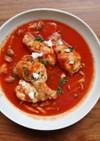体が温まる♪簡単 鶏手羽元のトマト煮込み
