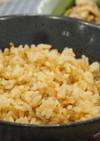 『生姜醤油の炊き込みご飯』
