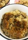 舞茸とお肉の炊き込みご飯