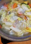 胃腸に優しい!鶏と白菜の水炊き