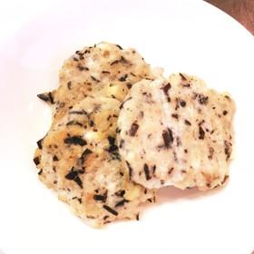 【離乳食後期】ひじき入り豆腐ハンバーグ