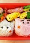幼稚園のお弁当第40段!!トイストーリー