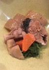 鯖の味噌煮缶で根菜の煮物
