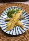 グルテンフリー 米粉のサヨリの天ぷら