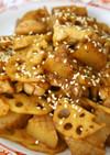 鶏肉とレンコンのとろコク味噌炒め