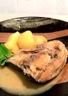 生鮭頭とじゃが芋の味噌煮