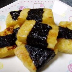 ダイエットシリーズ!お豆腐の海苔巻き焼き