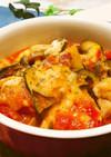◆鶏肉とトマトのキムチーズ鍋♪