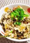 炊飯器で焼き海苔の炊き込みご飯