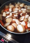 筑前煮!作り置き!!冷凍根菜で時短に!!