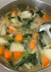 胃腸にやさしい野菜スープ