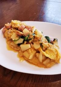 卵と林檎の簡単レシピ