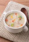 糀甘酒豆乳で作るクリームスープ