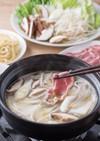 ラム肉の糀甘酒しゃぶしゃぶ鍋