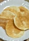 オーブントースターで餃子の皮のクラッカー