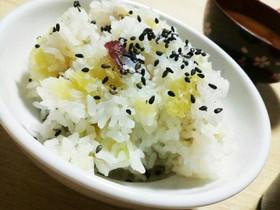 簡単‼さつま芋ご飯(^ー^)