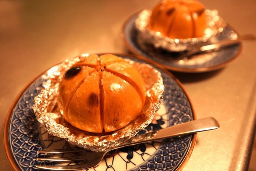 【焼き柿】材料3つで簡単トースターレシピ