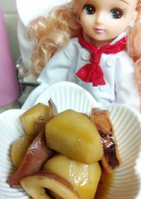 リカちゃん♡里芋といかの煮物ꕤ*.゚