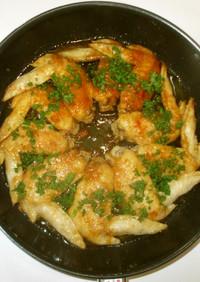 鶏手羽先の甘辛煮♪簡単照り焼き
