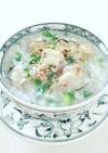 朝粥*牡蠣の薬膳がゆ