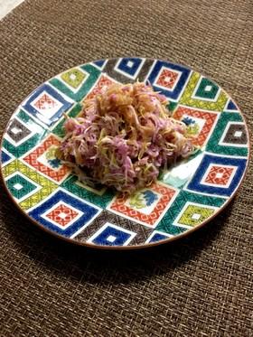 食用菊のおひたし