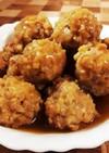 高野豆腐入り肉団子(和風あんかけ)