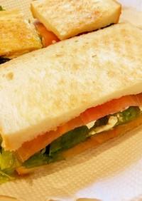 生ハムクリームチーズのマーマレードサンド