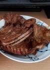 猪(イノシシ)肉のBBQソース煮込み