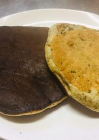 血液サラサラ、ドクダミパンケーキ
