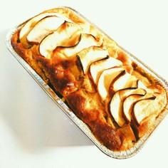 HM簡単りんごとシナモンのパウンドケーキ