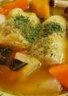 時短で⭐ロールキャベツ入りポトフ風スープ