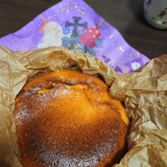12cm型で作るバスクチーズケーキ